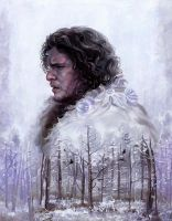 Jon Snow by fresco-child