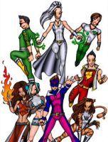 Legion of Superheroes 2 by kidmarvelj