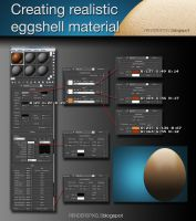 Creating Realistic Eggshell Material by Jonnathon