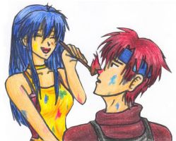 More Roy and Lilina by RoyLover