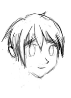 England Hetalia Sketch by DarkT0rQu3