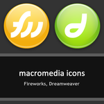 Macromedia Icons FW-DW by rjsmith2007