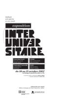Exposition Interuniversitaire by melany182