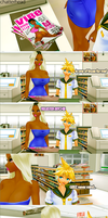 MMD COMIC Im Famous by chatterHEAD