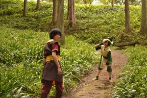 Toph and Zuko 2 by MIUX-R