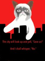 Grumpy Cat's City by The-Land-Down-South