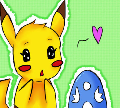 Request: Pikachuuuu~! by WatercolorNotes
