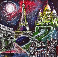 Midnight in Paris by LauraHolArt