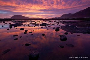 Bettys Bay Autumn Sunset by hougaard