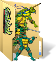 TMNT 2002 Folder Icon by GreedLin