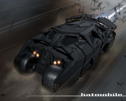 The Batmobile by 2ngaw