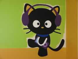 Chococat Wall Painting by ssbbgamergirl