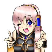 AT- Megurine Luka by magicturtlerock