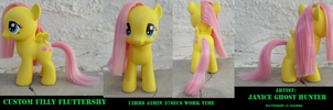 Custom Filly Fluttershy by janiceghosthunter
