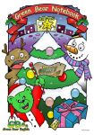 Green Bear Christmas 2008 by dreadsta