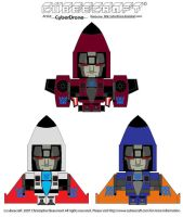 Cubeecraft - G1 Coneheads by CyberDrone