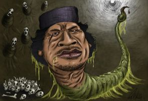The Gaddafi Worm by zones-productions