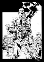 Inks - Ultimates II by Bryan Hitch by adr-ben