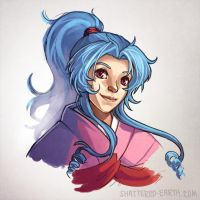 Botan - YYH by Shattered-Earth