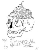 I scream Sketchoodle #1 by qulr