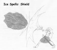 Aria's Magic (NEW!): Ice Shield by Xeranad