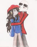 Nigel and Abby two XD by Mac-kys