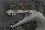 The Awesome Ceratosaurus by TheSpiderAdventurer