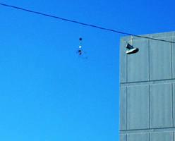 dangling shoes. by lycheese