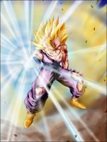 Gohan's Kameha 2 by condemned2love