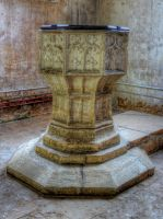 The Font at St Michael and All Angels by s-kmp