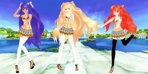 SeeU - summer plaid (download) by YamiSweet