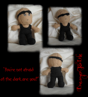 Riddick Plushie Still Life Collage by DreamerForLife