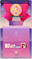 Sailor Moon Journal Skin! (Read the description!) by PrettyWitchDoremi