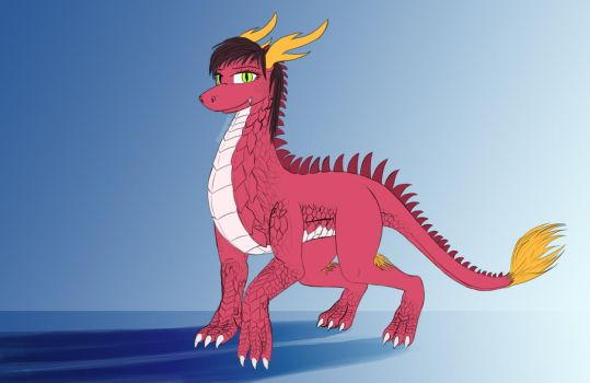 Huang Hou_the chinese dragoness by Bluenight01