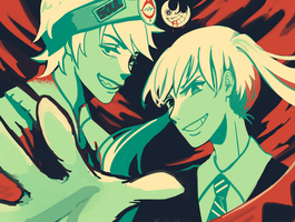 CM - Color Palette Challenge 1 Soul Eater by papprica