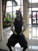 Megacon- STRONG POSE!!! by Wolfie0412