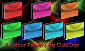 7 color Folders by 0dd0ne