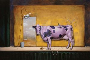 Purple Cow, Act One by LindaRHerzog