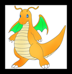 Dragonite by Hand-Banana