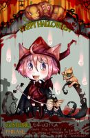 ID Halloween party by amu-chan13
