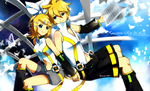 Kagamine Rin and Len: Append Ver. by Jiayi