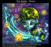The Zodiac - Pisces by elphaba-rose-wilde