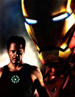 IRON MAN by vicariou5