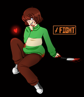 Chara by BunsDream
