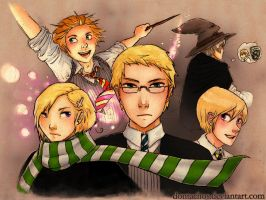 APH: Nordic Hogwarts by dontachos