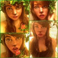 Fawn/Faun Makeup Test by AnaGraceCosplay
