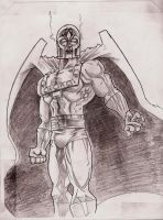 The First sketch of magneto by Lorredelious