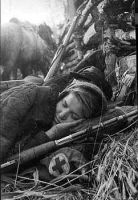 Russian female soldier (medic) sleeping ww2 by UniformFan