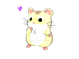 Little Hamster by xXNami-sanXx