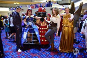 Doctor Who Group at Dragon*Con by IrishTimeLord